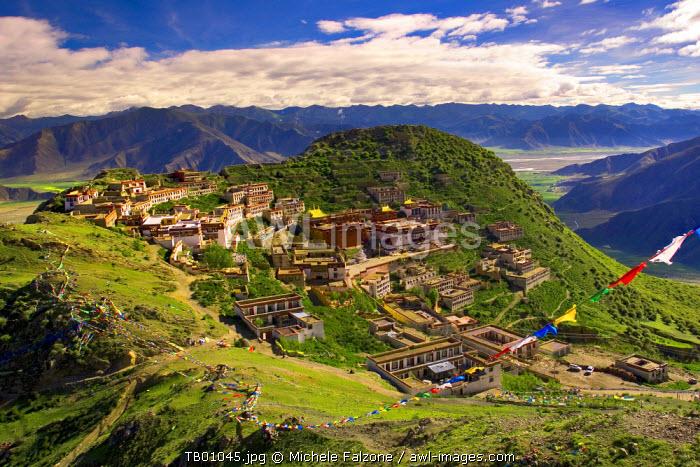 Ganden Monastery, Tagtse county, Tibet