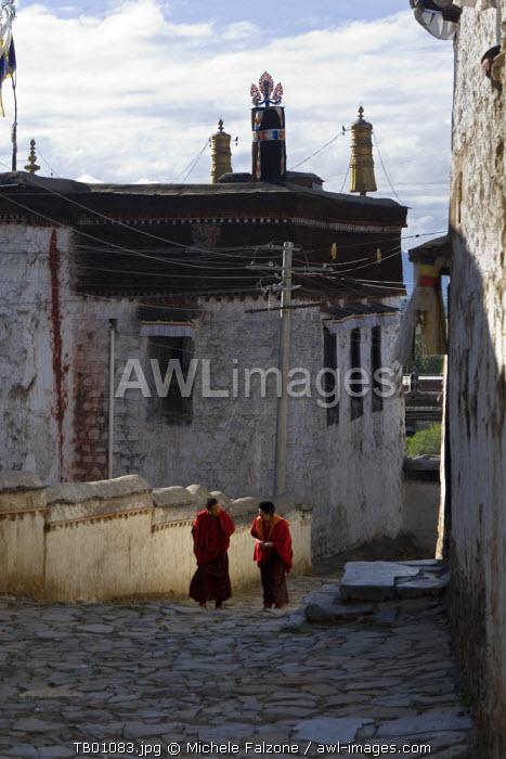 Tashilumpo Monastery (Zhashilunbu Si), Shigatse, Tibet