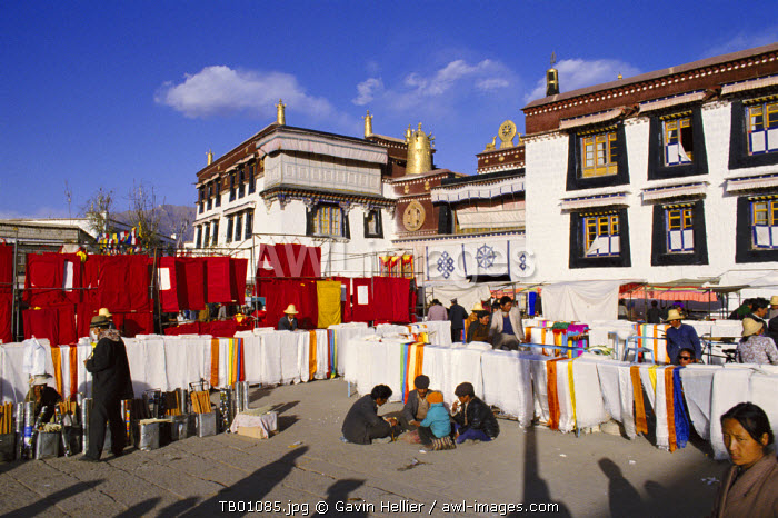 Jokhang temple, Lhasa, Tibet, China, Asia