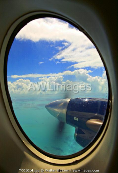 Aerial view, Turks & Caicos, Caribbean