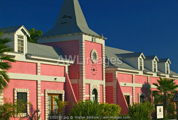 Courthouse, Cockburn Town, Grand Turk Island, Turks & Caicos, Caribbean
