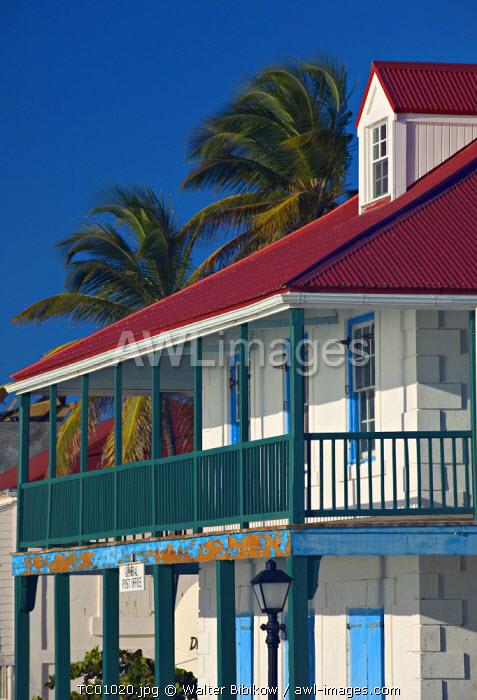 Post Office, Cockburn Town, Grand Turk Island, Turks & Caicos, Caribbean