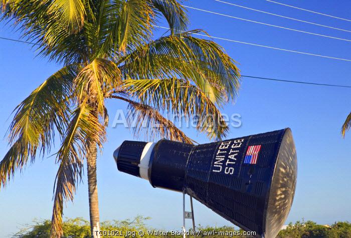 Replica of NASA Mercury Space Capsule, Cockburn Town, Turks & Caicos, Caribbean