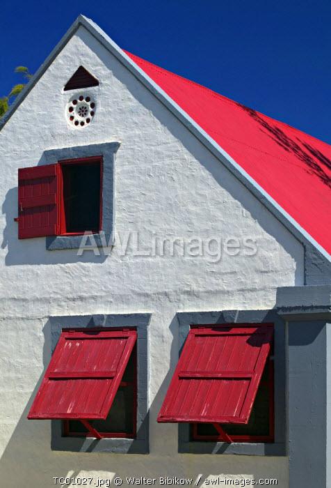 Balfour Town, Salt Cay Island, Turks & Caicos, Caribbean
