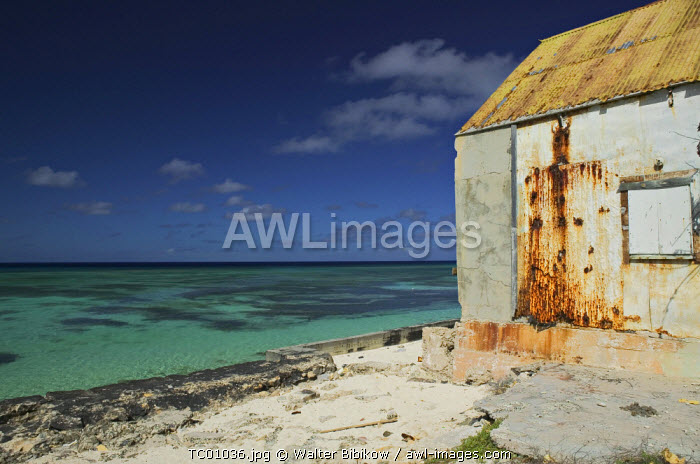 Old Salt warehouse, Cockburn Town, Grand Turk Island, Turks & Caicos, Caribbean