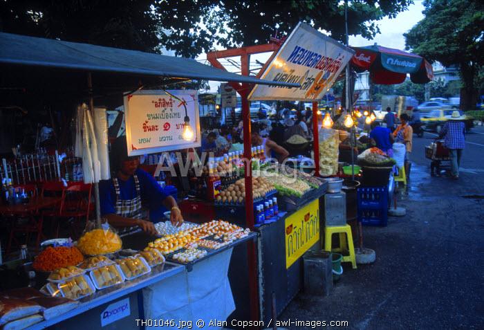 Fod stall, Bangkok, Thailand