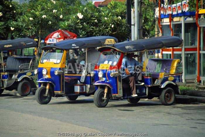 Tuk-Tuks, Bangkok, Thailand
