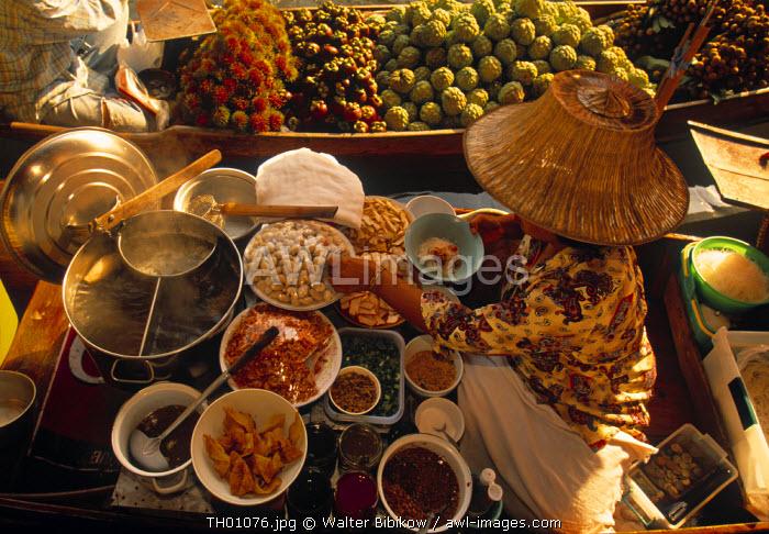 Floating Market, Damnoen Saduak, Ratchaburi, Thailand