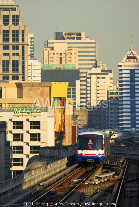 Skytrain Station, Siam Square, Bangkok, Thailand