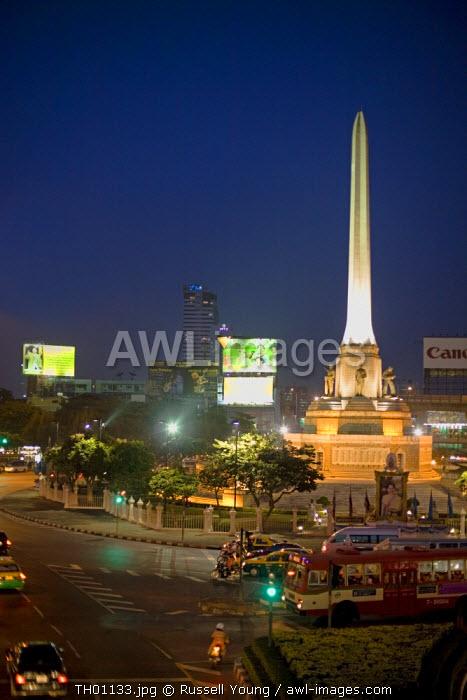 Victory Monument, Bangkok, Thailnd