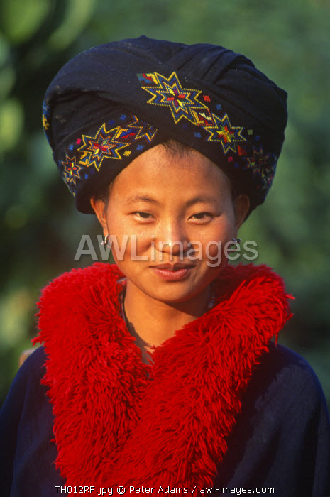 Woman of the Yao Tribe, Northern Thailand