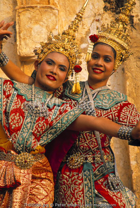 Dancing Girls, Ayutthaya, Thailand