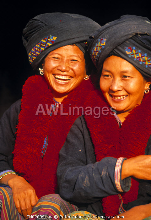 Women of the Yao Tribe, Northern Thailand