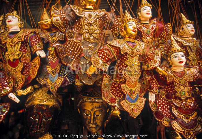 Souvenir Puppets, Doi Suthep, Thailand
