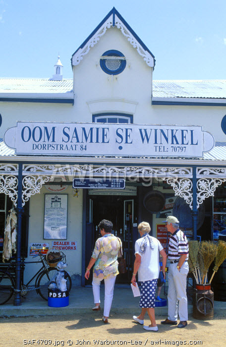 South Africa, Western Cape, Stellenbosch. Oom Samie Se Winkel General Store
