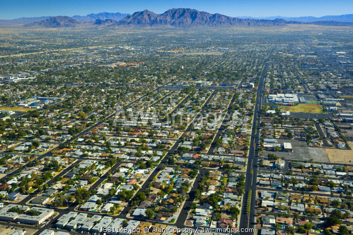 USA, Nevada, Las Vegas, Suburbia