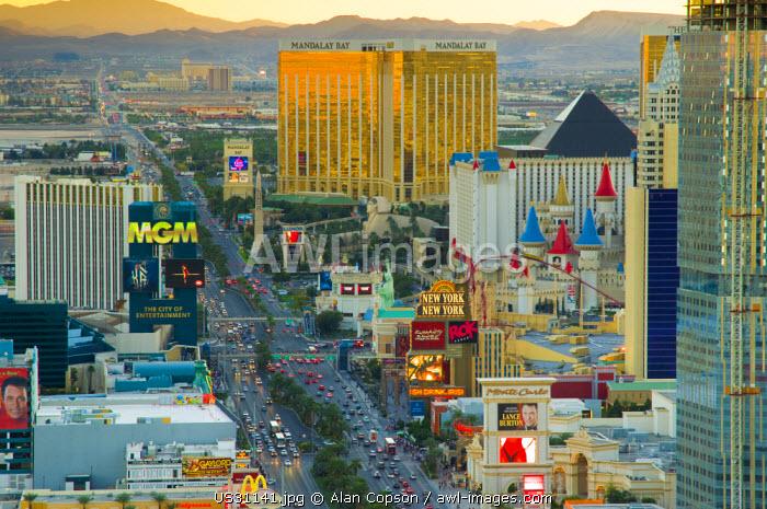 USA, Nevada, Las Vegas, The Strip