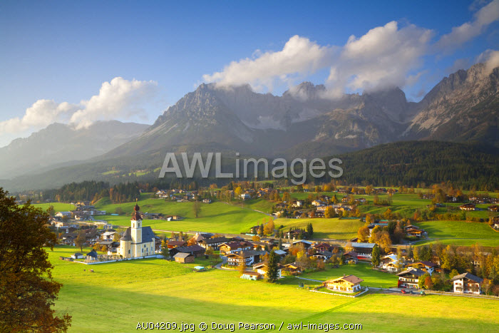 Going, Wilder Kaiser Mountains, Tirol, Austria