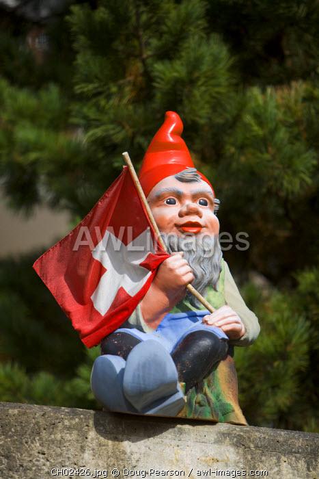 Garden Gnome, Grindelwald, Berner Oberland, Switzerland