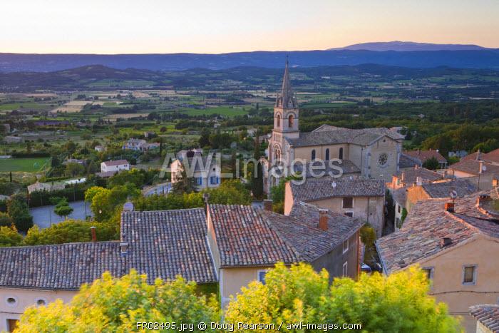 Bonnieux Vaucluse, Provence Alpes Cote D Azur, France