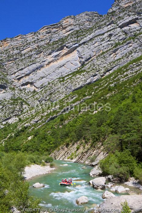 White Water Rafting, Gorges du Verdon, Provence-Alpes-Cote d'Azur, France