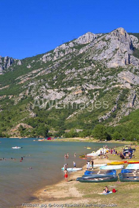 St Croix Lake, Gorges du Verdon, Provence-Alpes-Cote d'Azur, France
