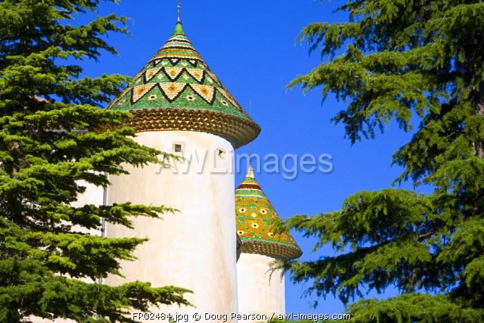 Chateau Aiguines, Gorges du Verdon, Provence-Alpes-Cote d'Azur, France