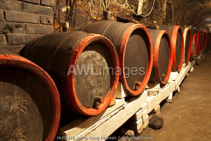 Wine Cellar, Villany Kovesd, Villany Wine Region, Southern Transdanubia, Hungary