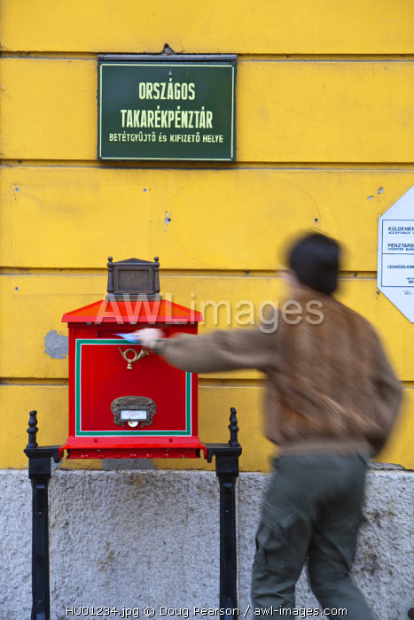 Post Office, Castle District, Buda, Budapest, Hungary
