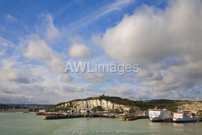 White Cliffs of Dover, Dover, Kent, England, UK
