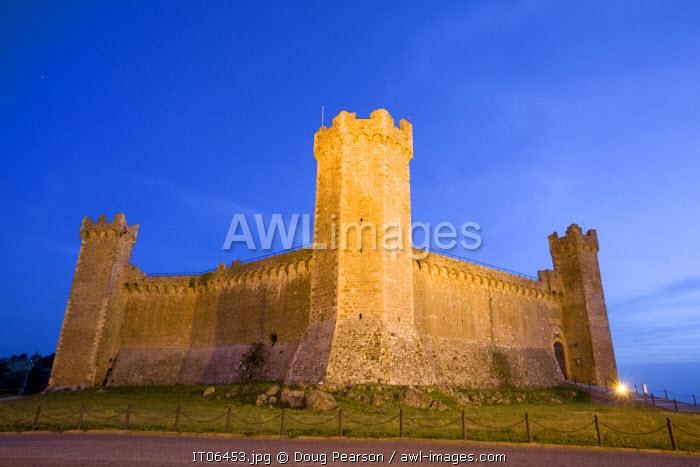 Castle Montalcino, Tuscany, Italy