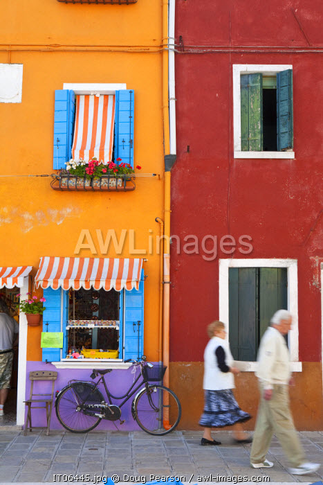Shop Front, Burano, Venice, Italy, PR