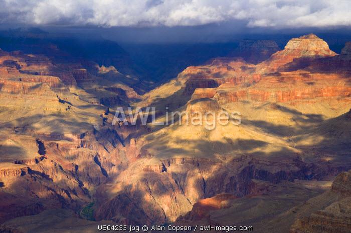 USA, Arizona, Grand Canyon, from Grand View