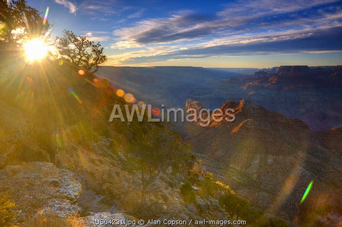 USA, Arizona, Grand Canyon, from Desert View
