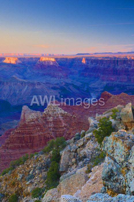 USA, Arizona, Grand Canyon, from Lipan Point