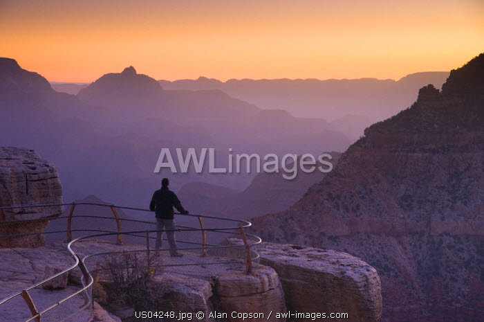 USA, Arizona, Grand Canyon, from Mather Point
