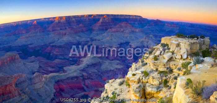 USA, Arizona, Grand Canyon, from Moran Point
