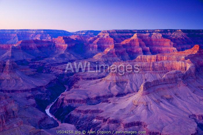 USA, Arizona, Grand Canyon, from Pima Point