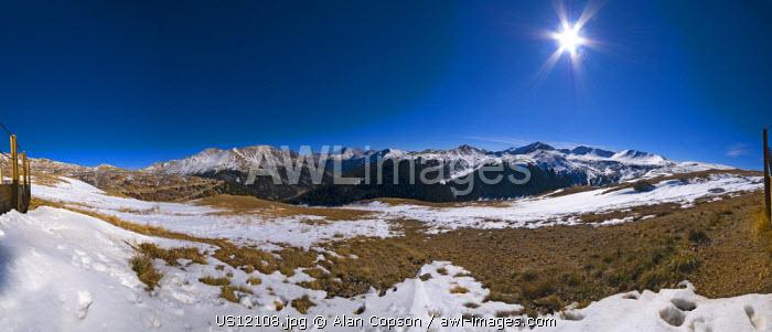 USA, Colorado, Independence Pass
