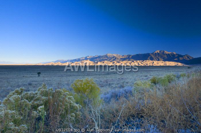 USA, Colarado, Great Sand Dunes National Park and Reserve