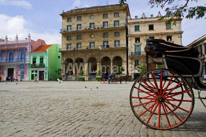 Cuba, Havana. Plaza de San Francisco, Havana