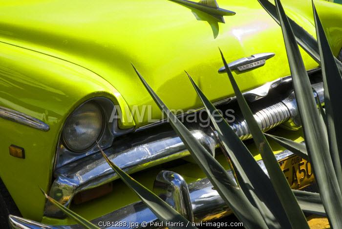Cuba, Havana. Vintage American cars, Havana