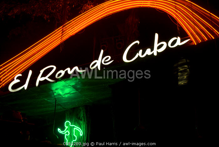 Cuba, Havana. La Tropicana. Considered to be the oldest and most lavish cabarets in the world.