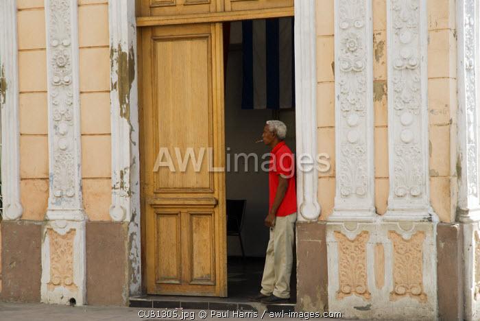 Cuba, Cienfuegos. The back streets of Cienfuegos