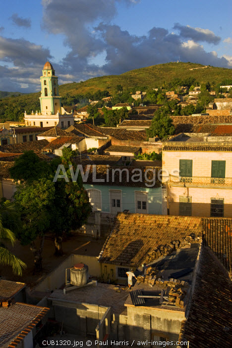 Cuba, Trinidad. The centre of Trinidad restored by UNESCO