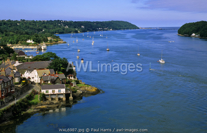 Wales. The Menai Strait, Anglesey, North Wales            The Menai Strait is a narrow stretch of shallow tidal water, about 14 miles long, which separates the island of Anglesey from the mainland of Wales. It is part of the Irish Sea.