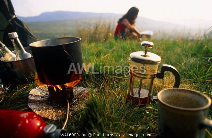 awl-images.com - North Wales / North Wales. Camping in the Ogwen valley, Snowdonia National Park.