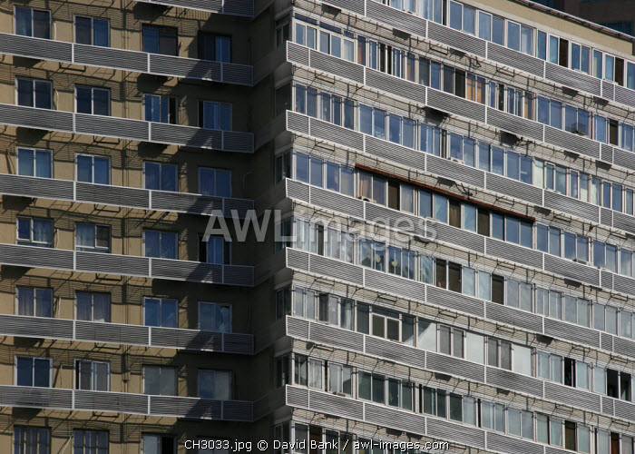 awl-images.com - China / China, Beijing. Beijing Appartment Building.