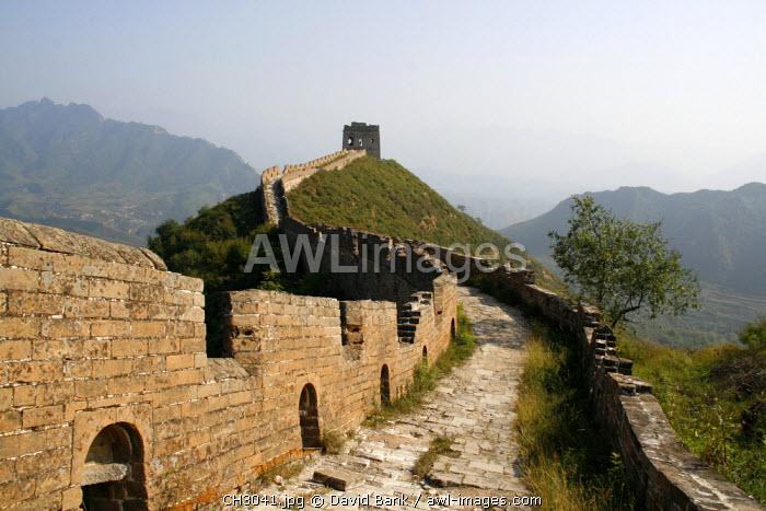 China, Simatai. Great Wall of China in Simatai.