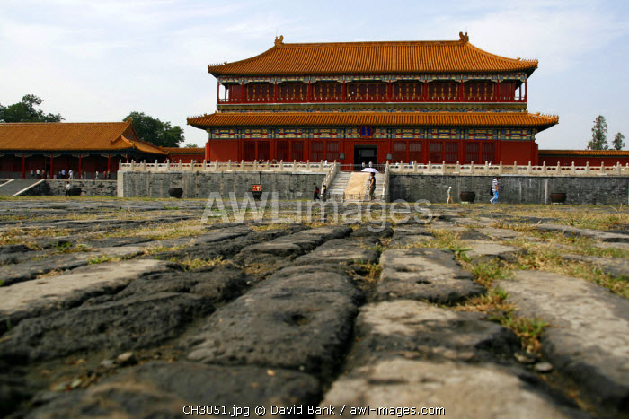 China, Beijing. Inside the Forbidden City in Beijing, China.
